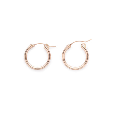 Encanto hoops (rose gold filled)