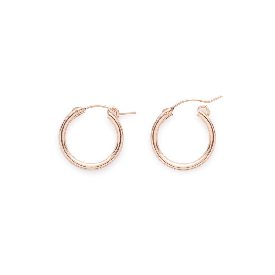 Encanto hoops (rose gold)