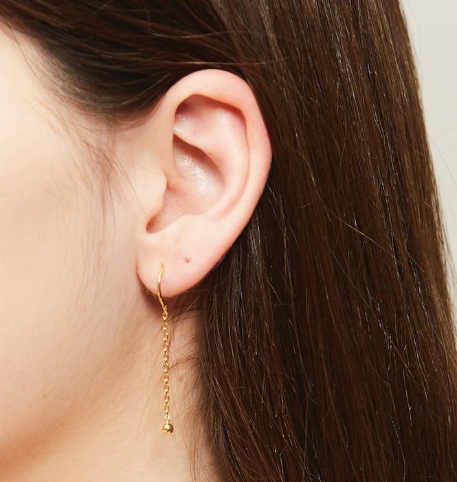 Formosa earrings (gold or silver)