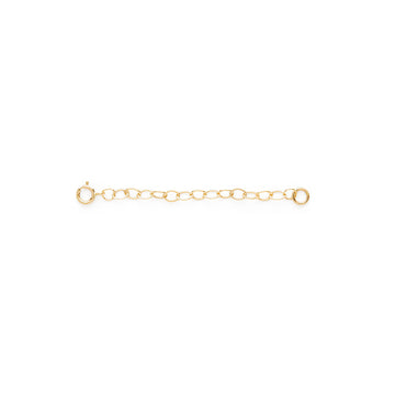 Extender chain (gold filled)