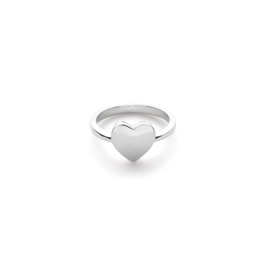 Hess heart signet ring