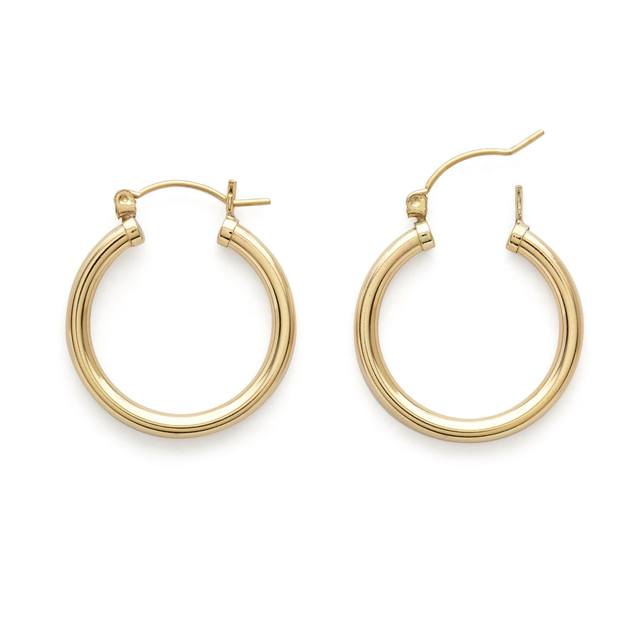 Jacqueline hoop earrings