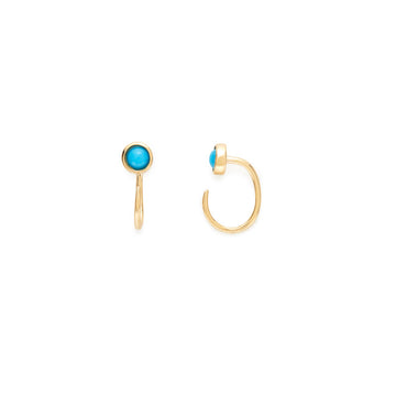 Jamie hoops (sleeping beauty turquoise)