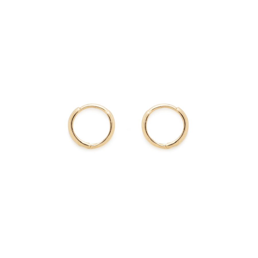 Katie hoops (14k gold)