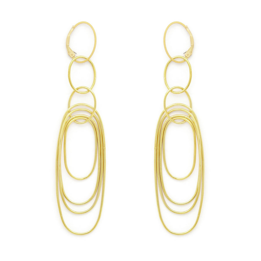 Krypton earrings (gold or silver)