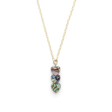 Lake abalone necklace