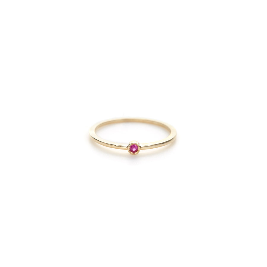Laura ring (ruby or pink sapphire)