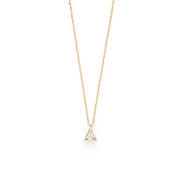 Leith necklace (white topaz)