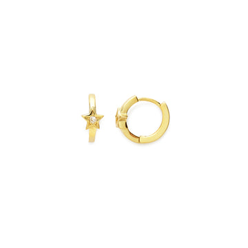 Lunas star earrings (gold or silver)