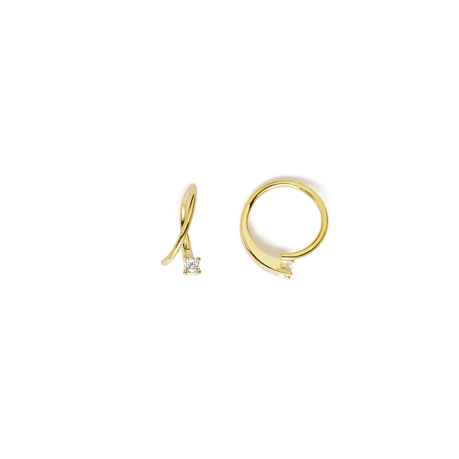 Marcel hoop earrings (gold or silver)
