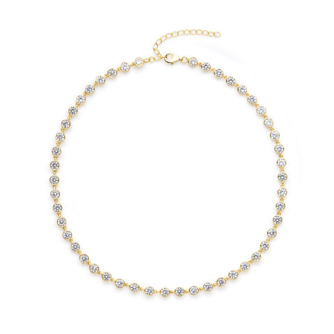 Meier choker necklace (gold or silver)