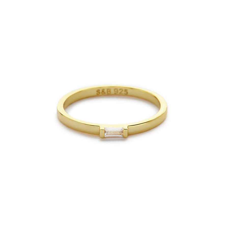 Pelli pinky ring (gold or silver)