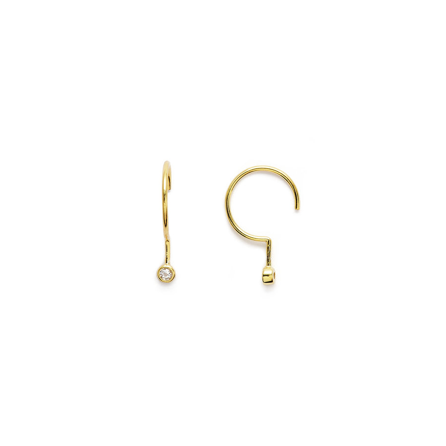 Pierre earrings (gold or silver)