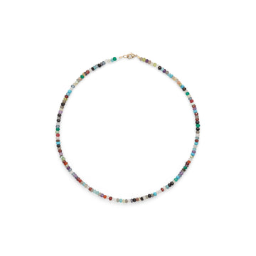 Popsicle semi precious stone necklace