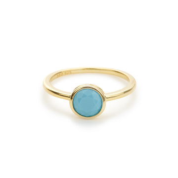 *Final Sale* Punta Vista ring (turquoise)