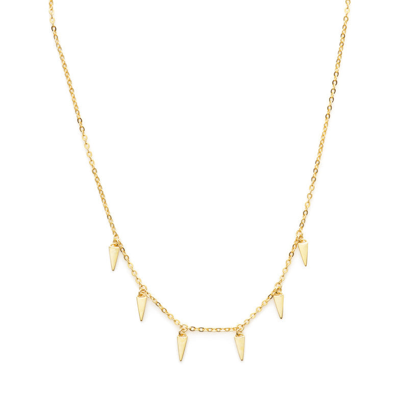 Rem choker necklace (gold or silver)