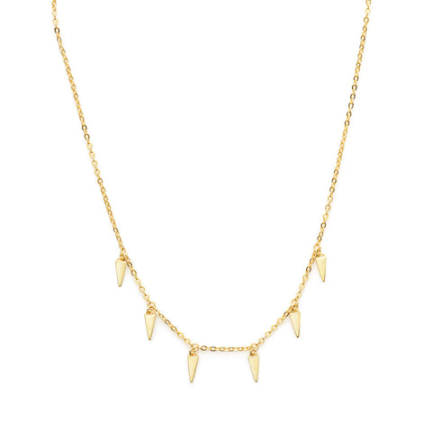 Rem necklace (gold or silver)