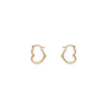 Ruth heart hoops (14k)