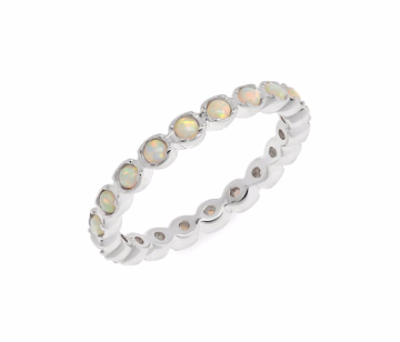 Opal Salbala ring (gold or silver)