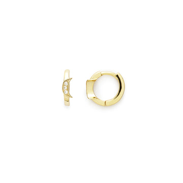 Sierra moon earrings (gold or silver)