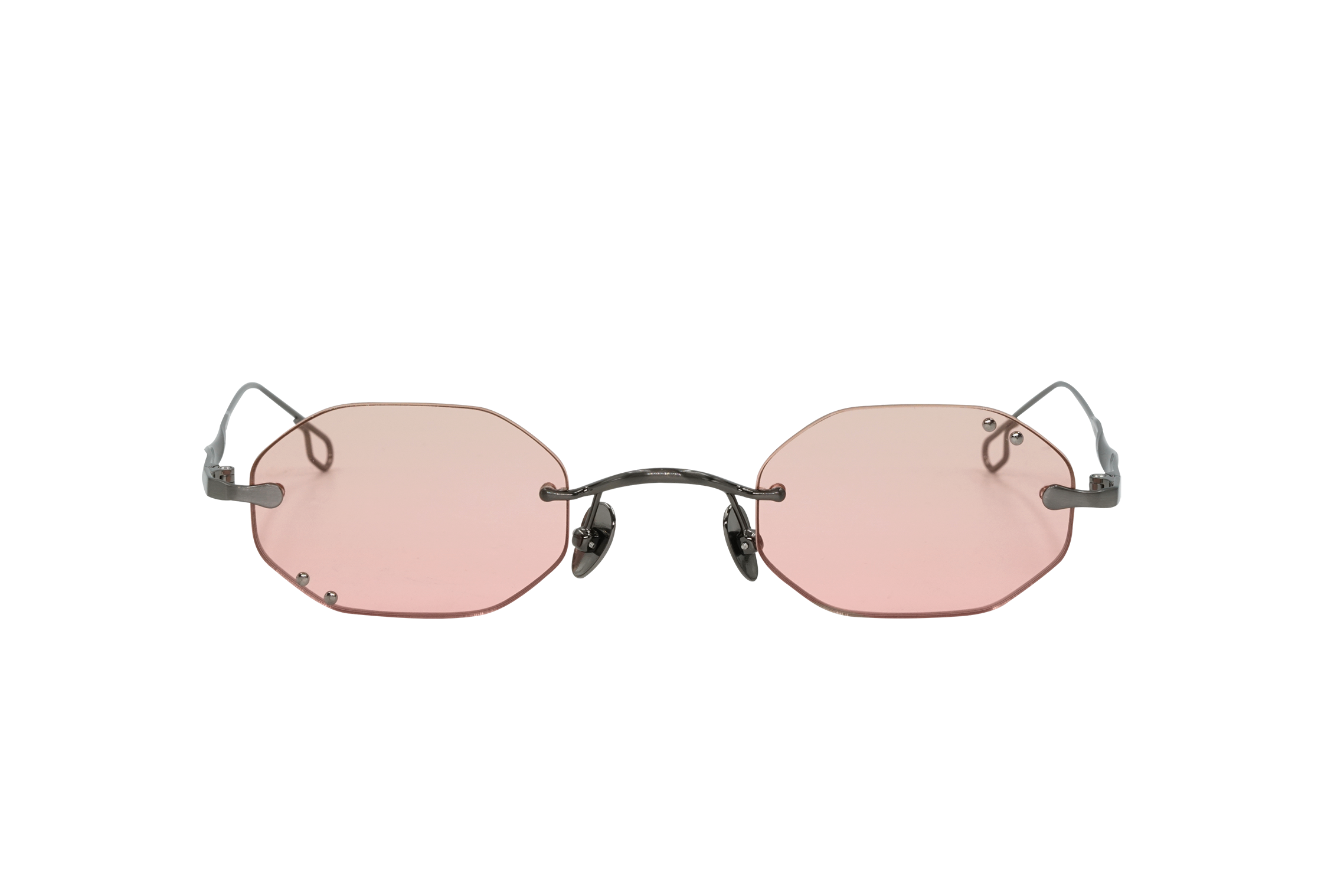 Abbot Kinney in Pink - Peppertint - Designer sunglasses