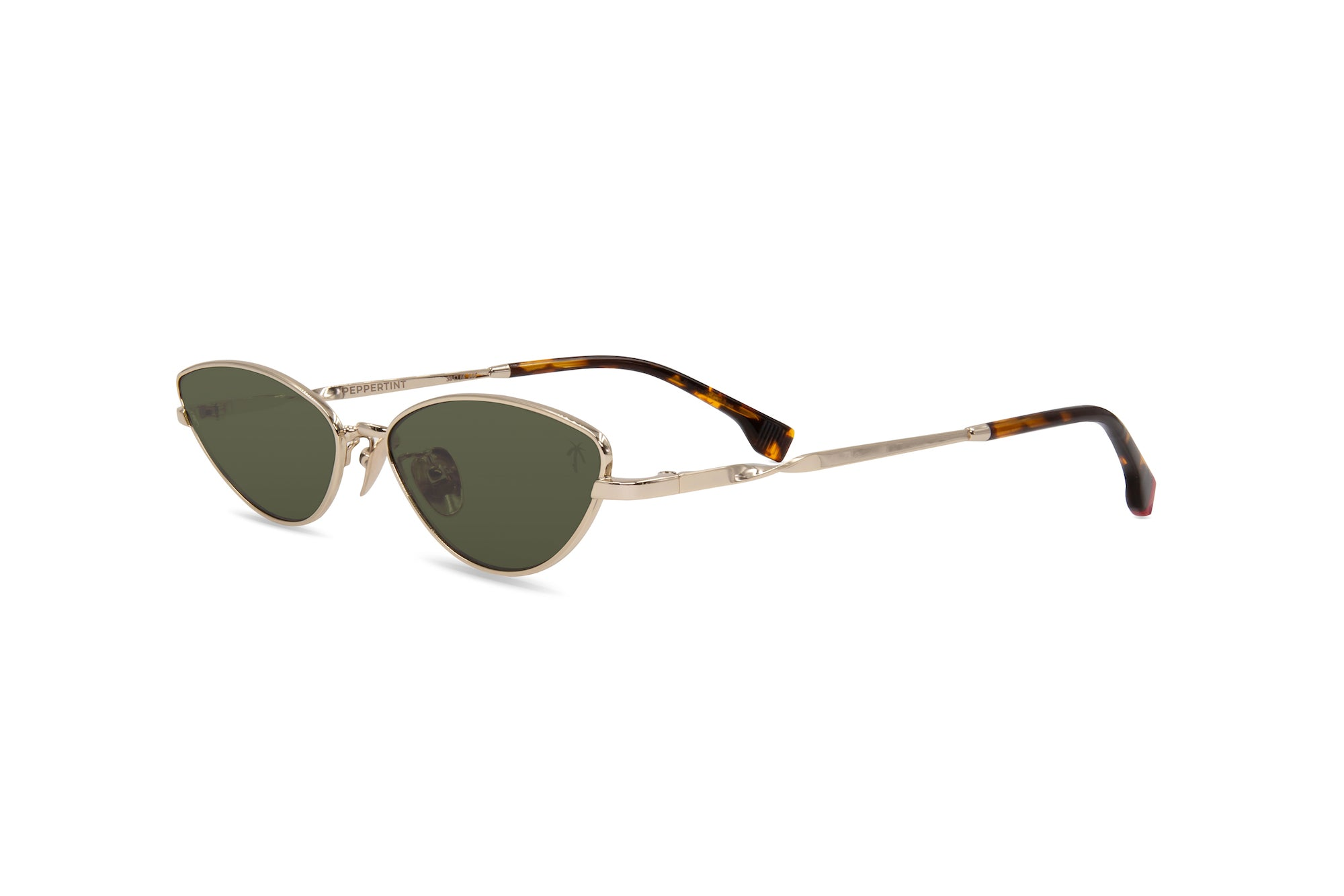 Alameda in Olive Green - Peppertint - Designer sunglasses