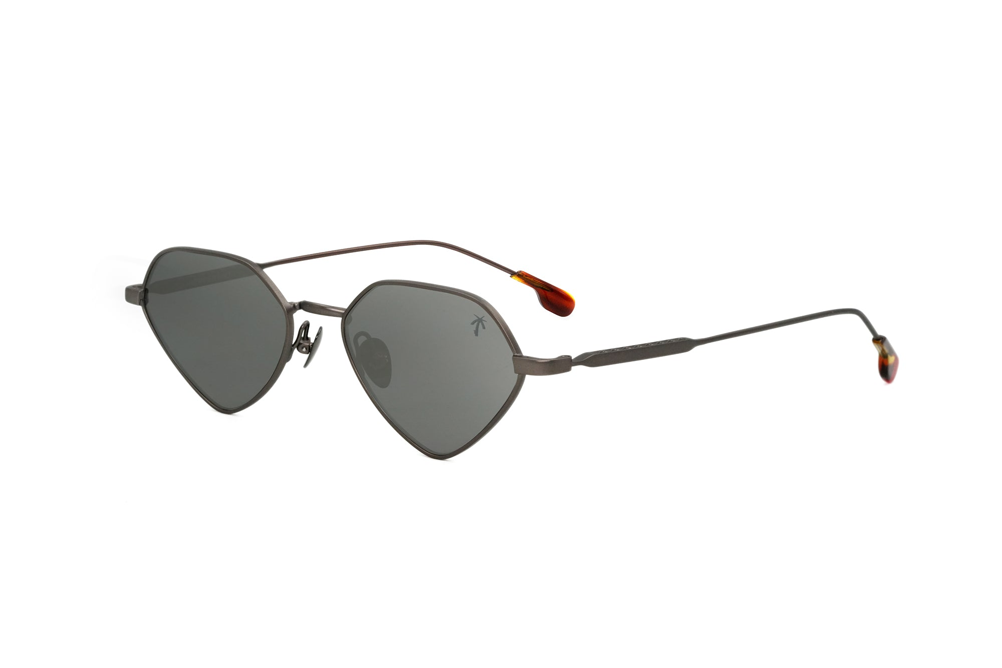 Bundy in Gun metal - Peppertint - Designer sunglasses