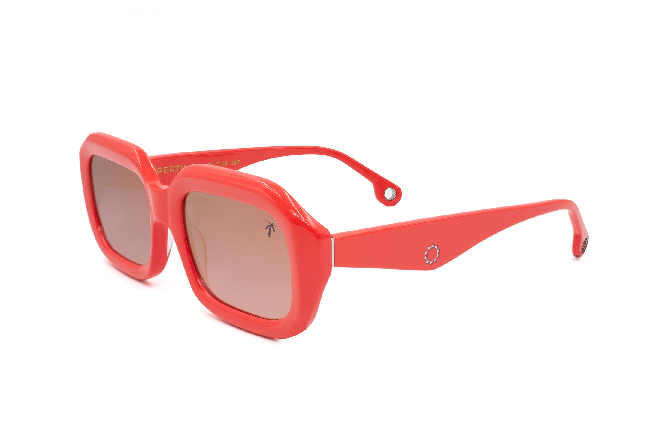 Compton in Pink - Peppertint - Designer sunglasses