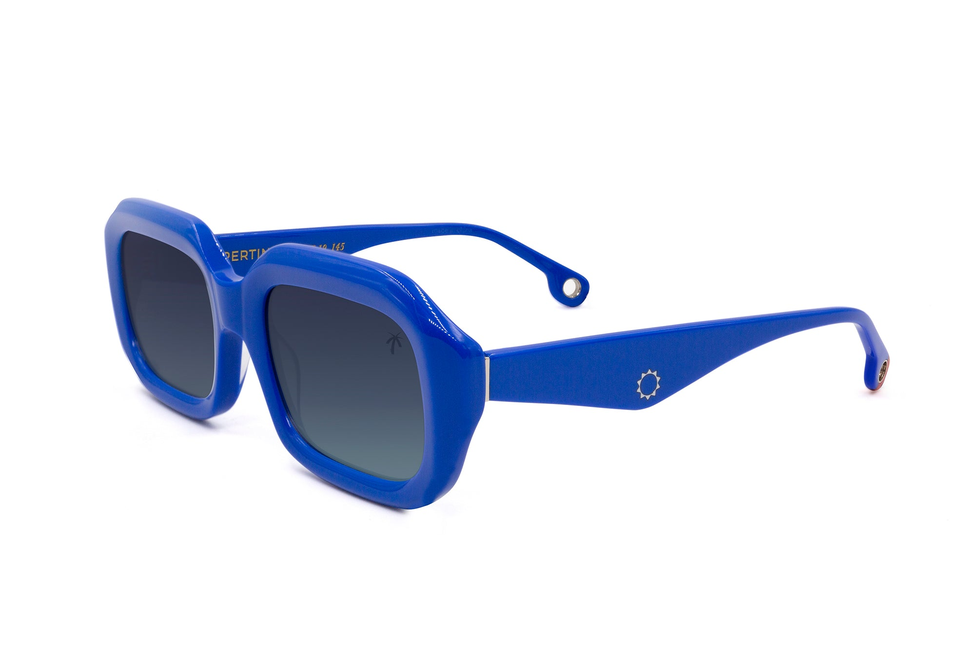 Compton in Blue - Peppertint - Designer sunglasses
