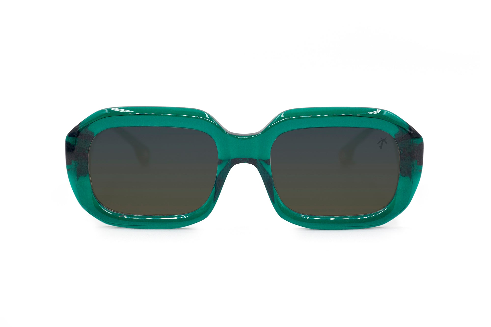 Compton in dark green - Peppertint - Designer sunglasses