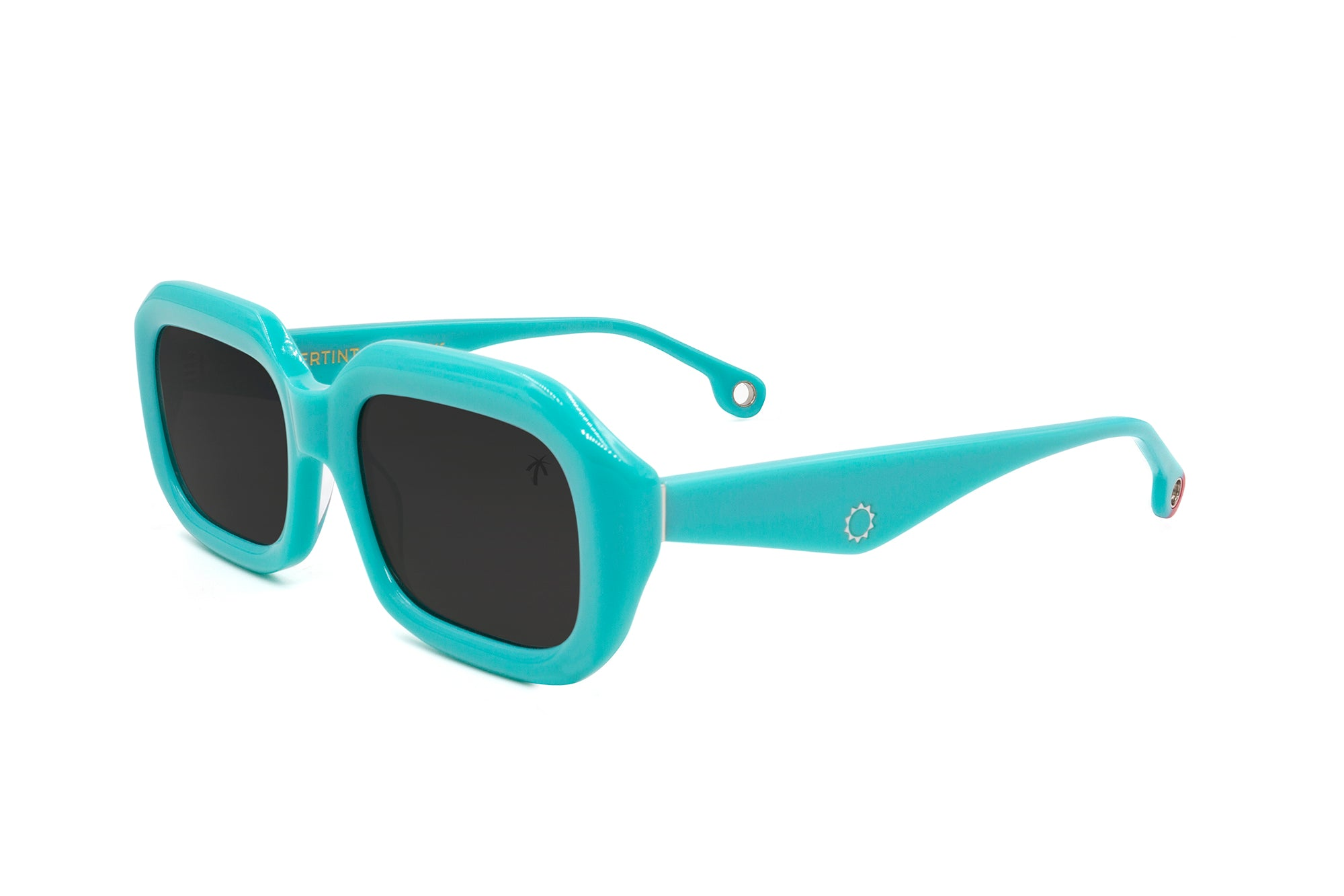 Compton in Teal - Peppertint - Designer sunglasses