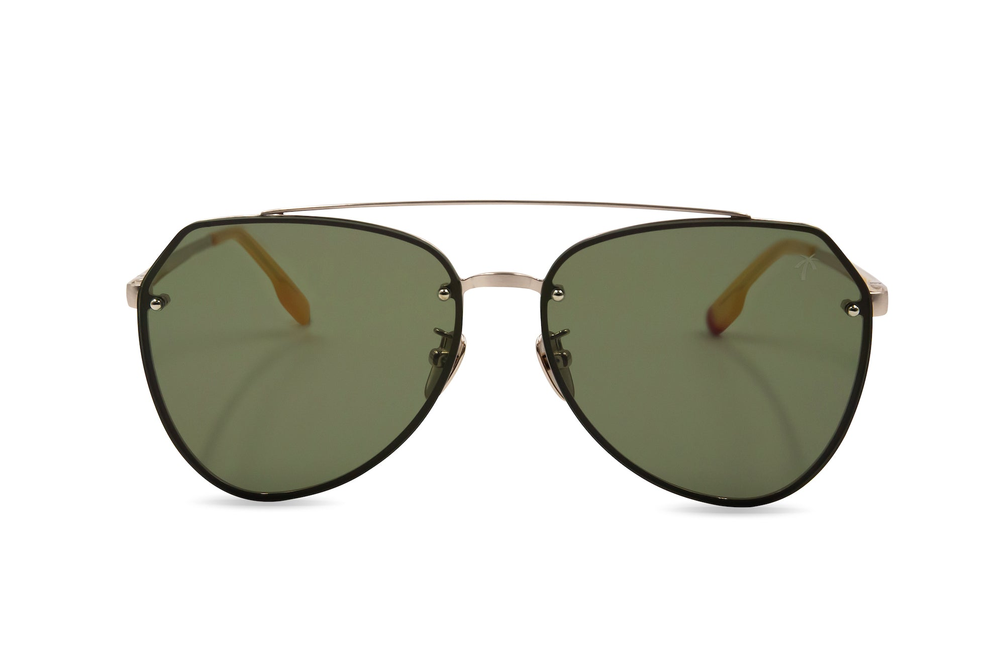 Doheny in Green - Peppertint - Designer sunglasses