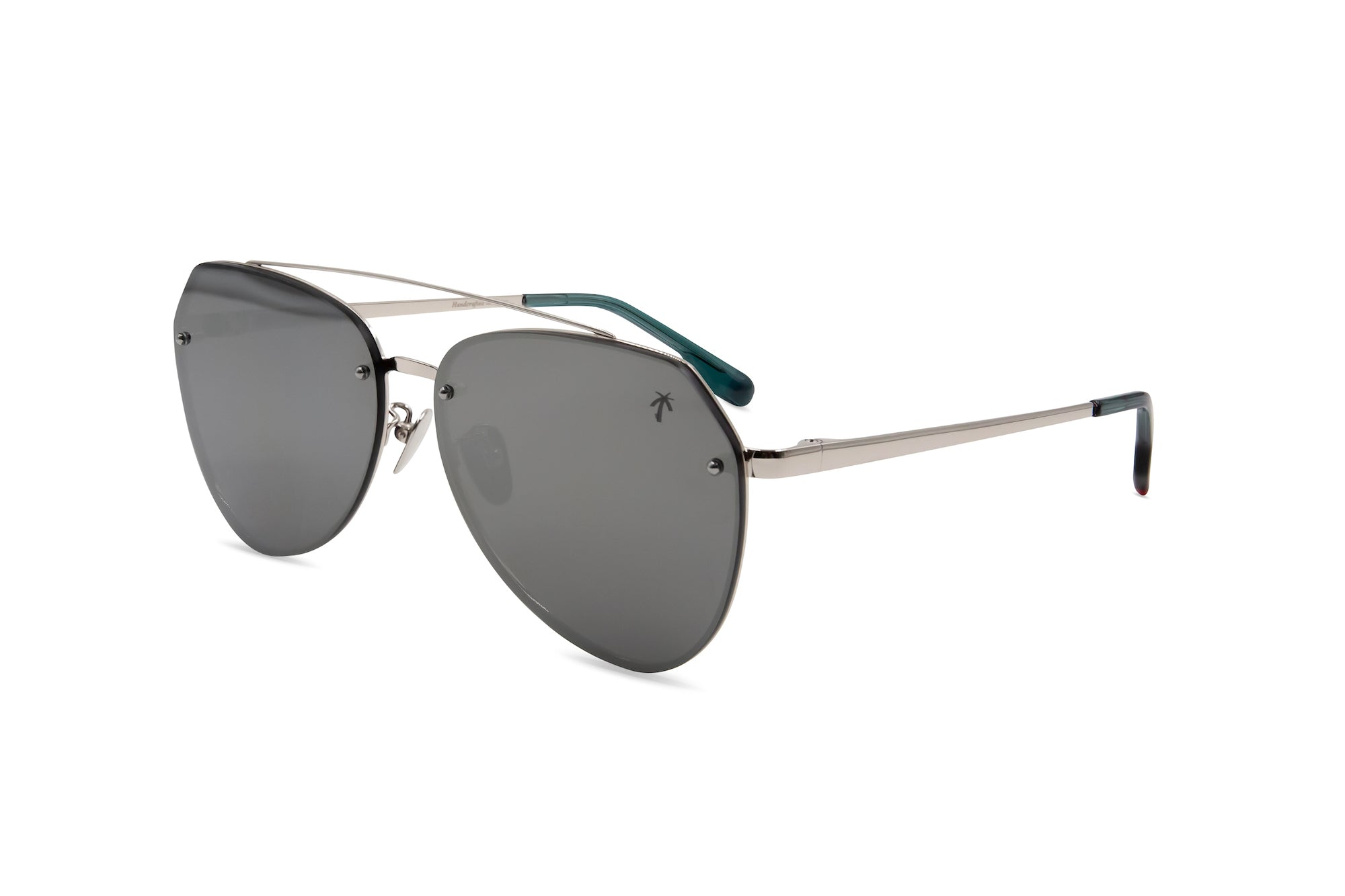 Doheny in Silver Mirror - Peppertint - Designer sunglasses