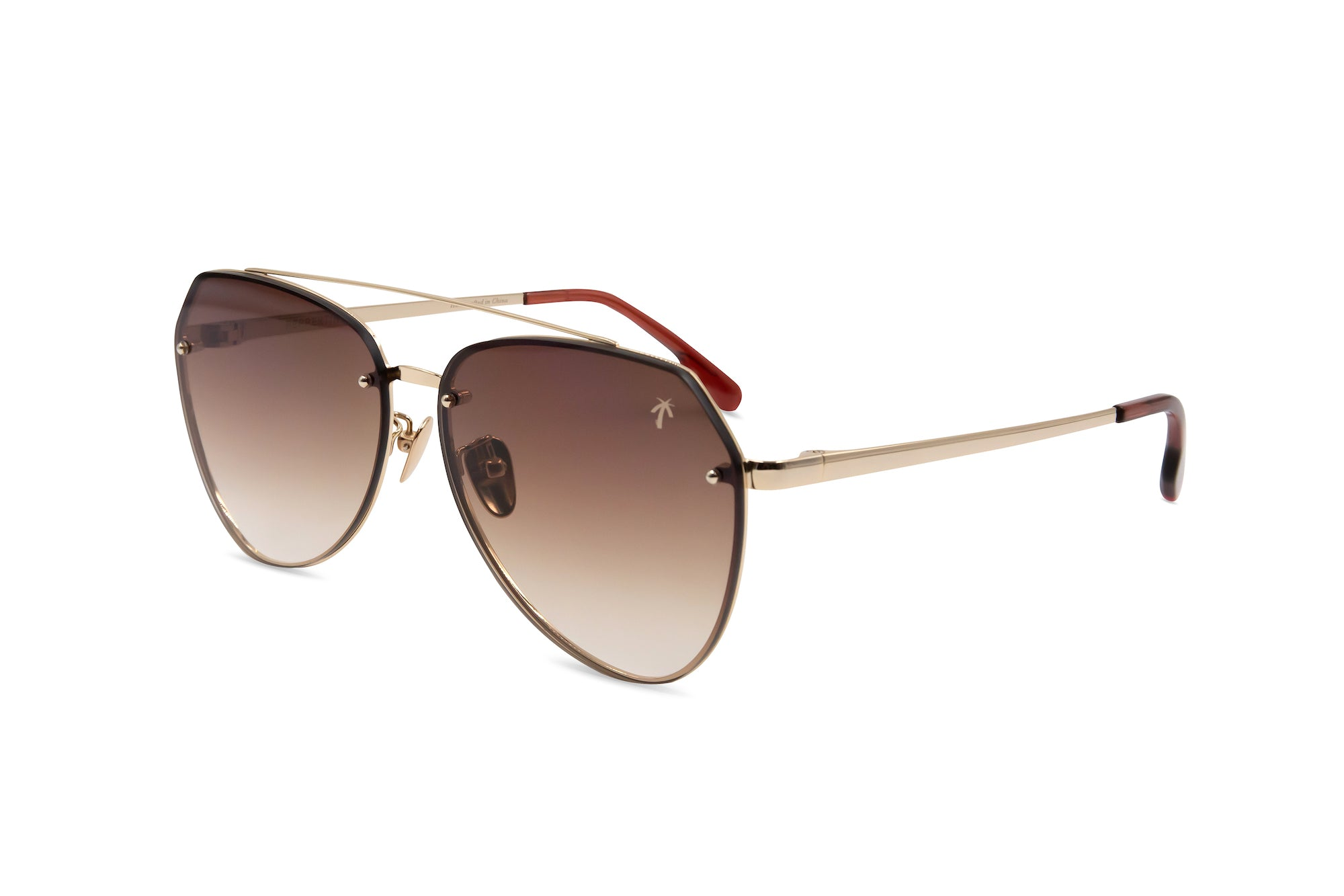 Doheny in Brown Gradient - Peppertint - Designer sunglasses