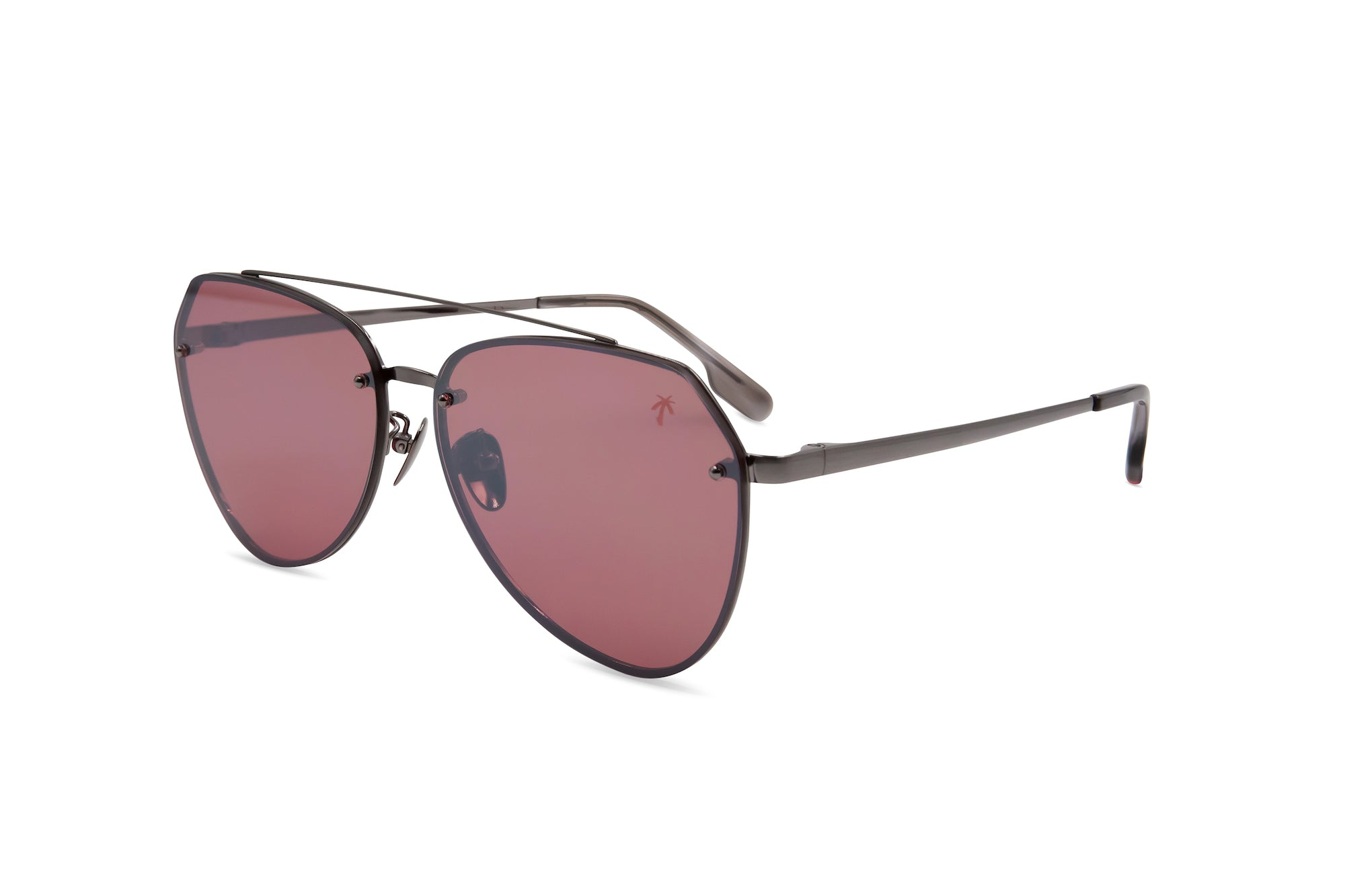 Doheny in Pink - Peppertint - Designer sunglasses