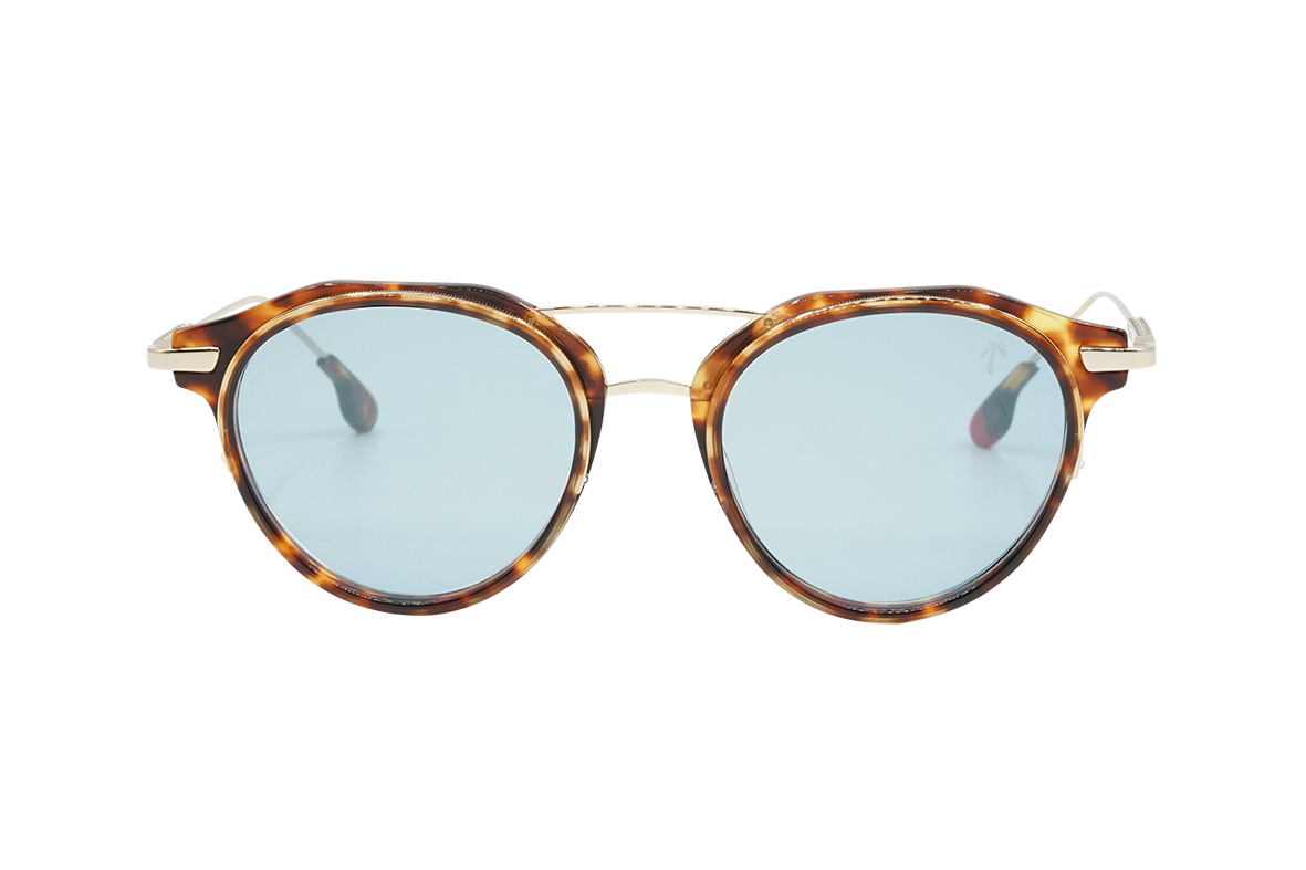 Inglewood in Blue Mirror - Peppertint - Designer sunglasses