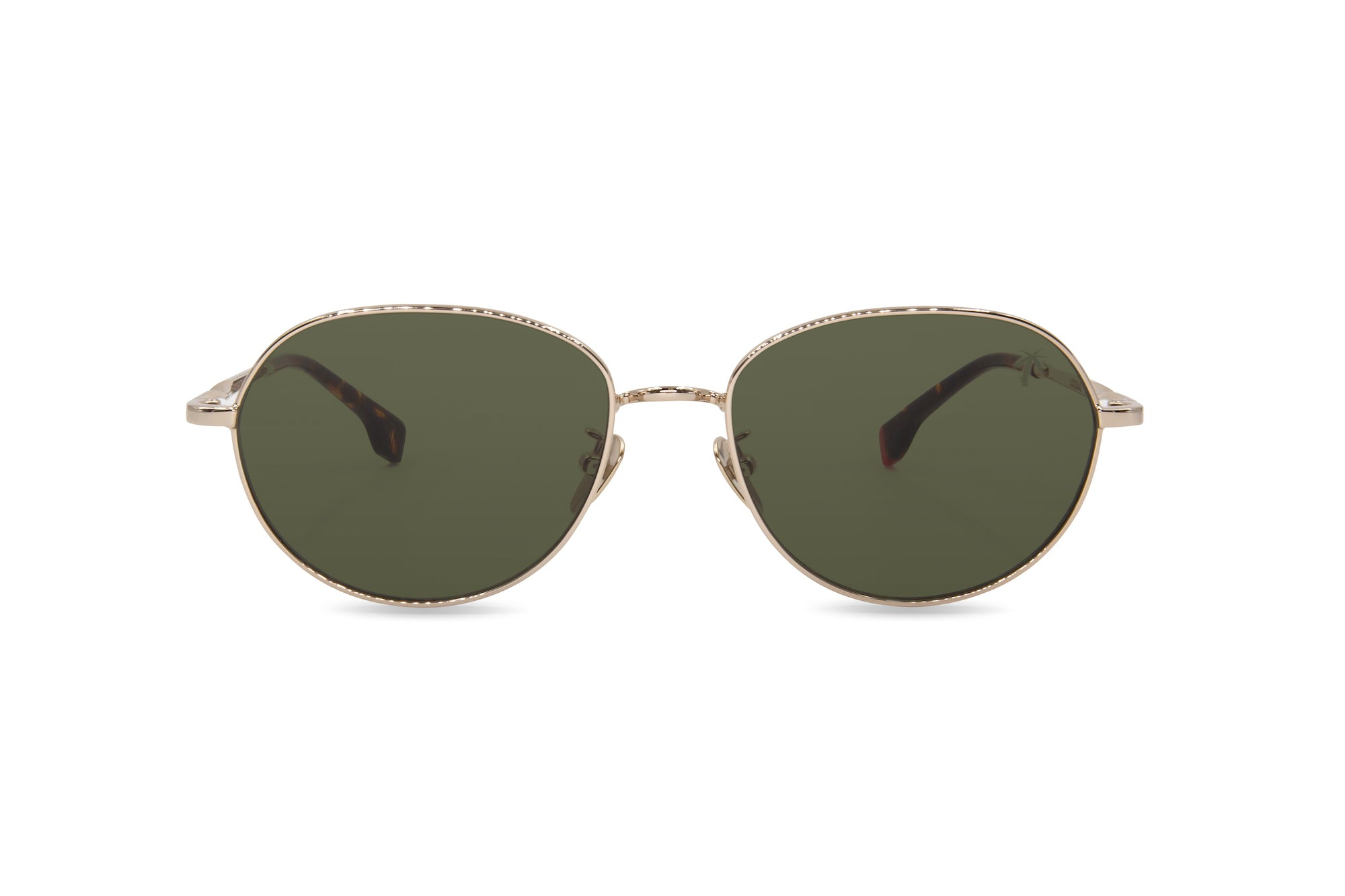 Loyola in Olive Green - Peppertint - Designer sunglasses