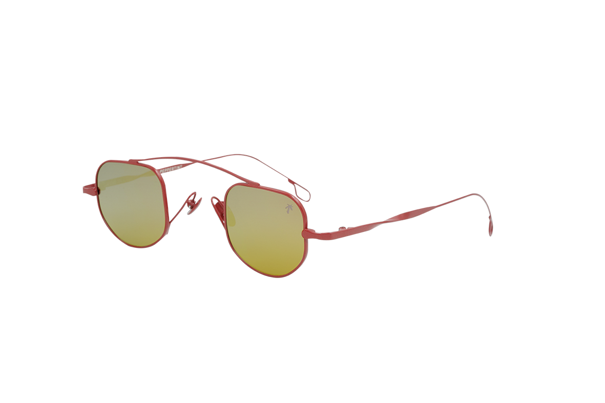 Marina in Red - Peppertint - Designer sunglasses