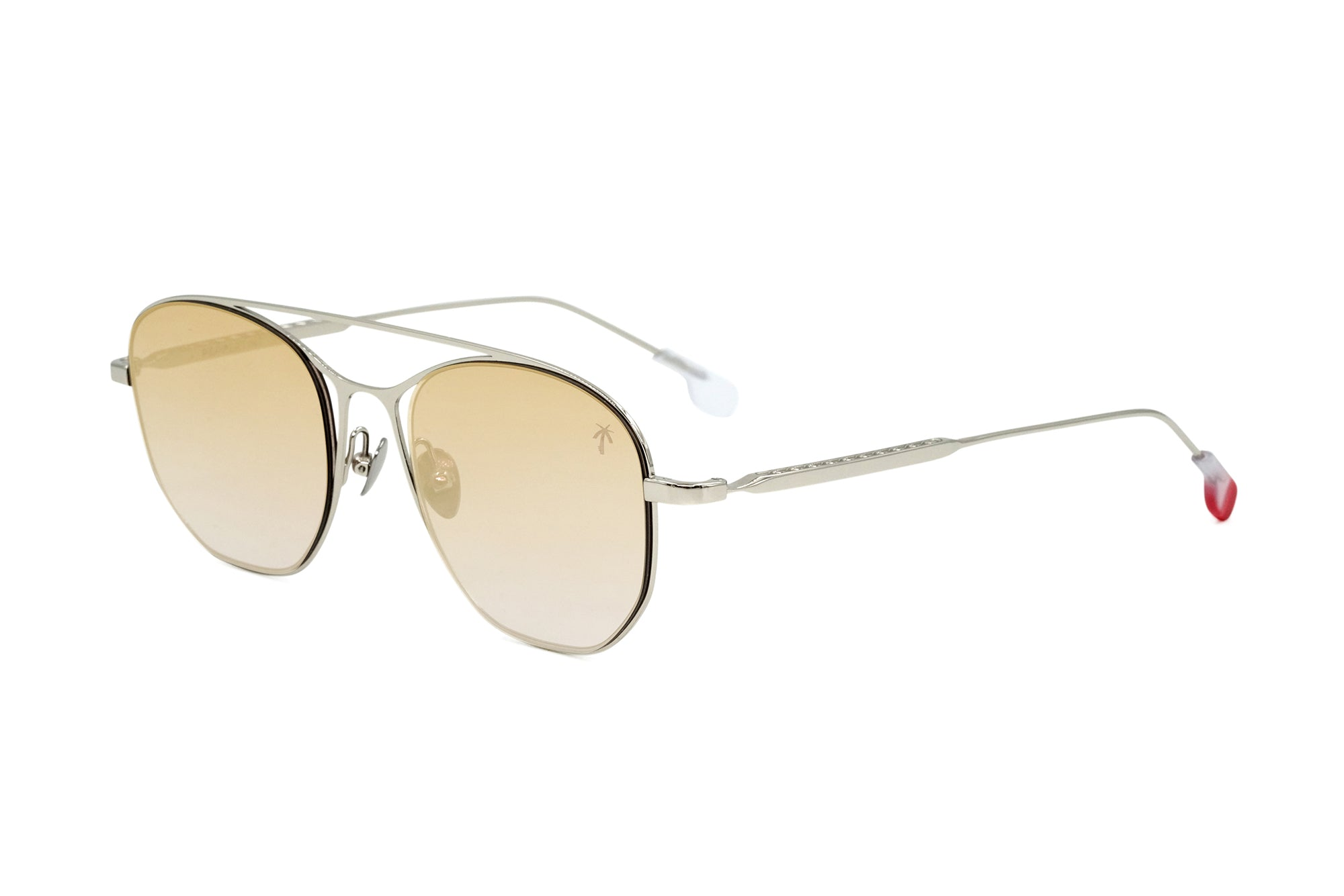 Mateo in Gold Mirror Lens - Peppertint - Designer sunglasses