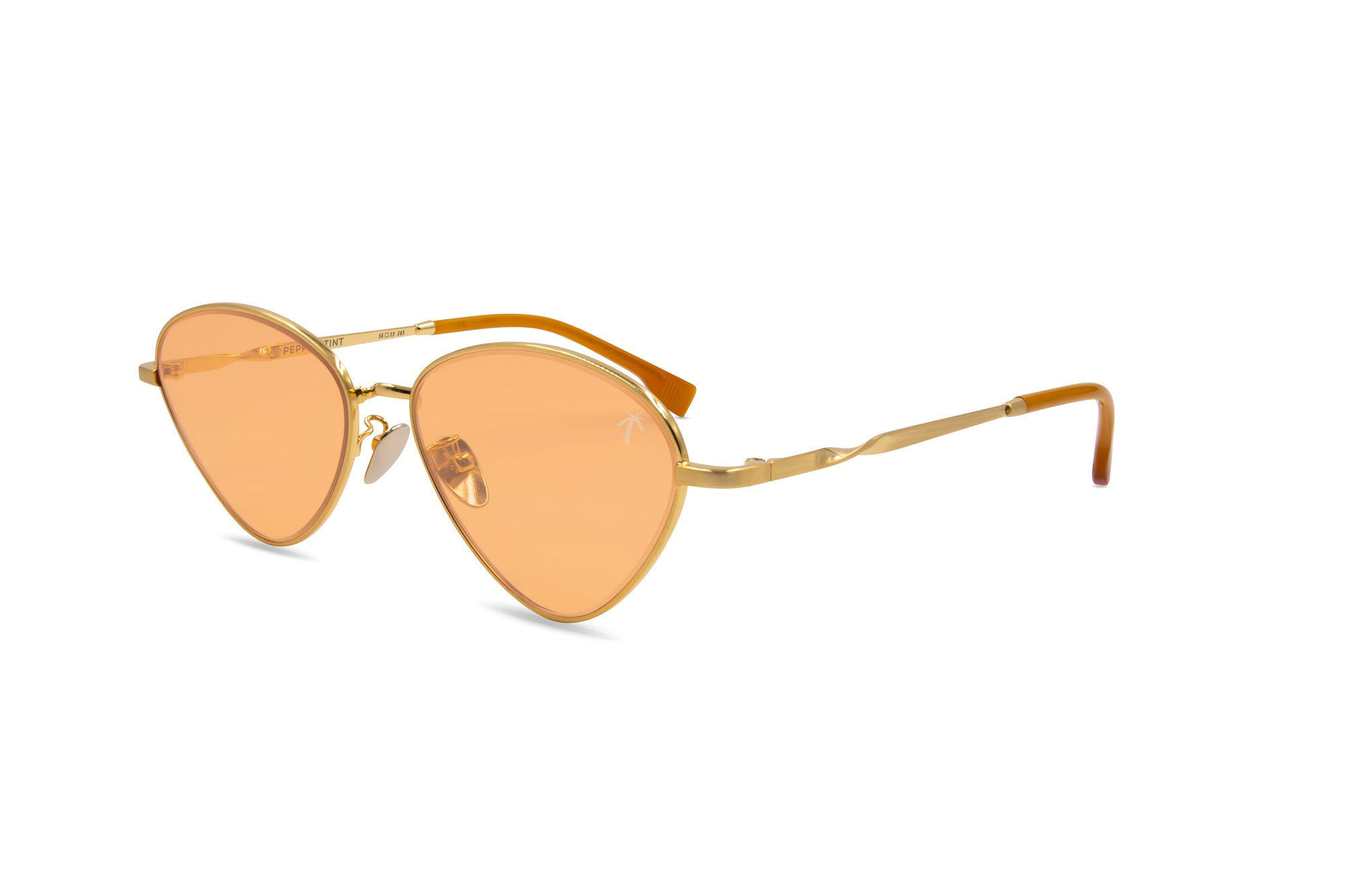 Olive in Orange - Peppertint - Designer sunglasses