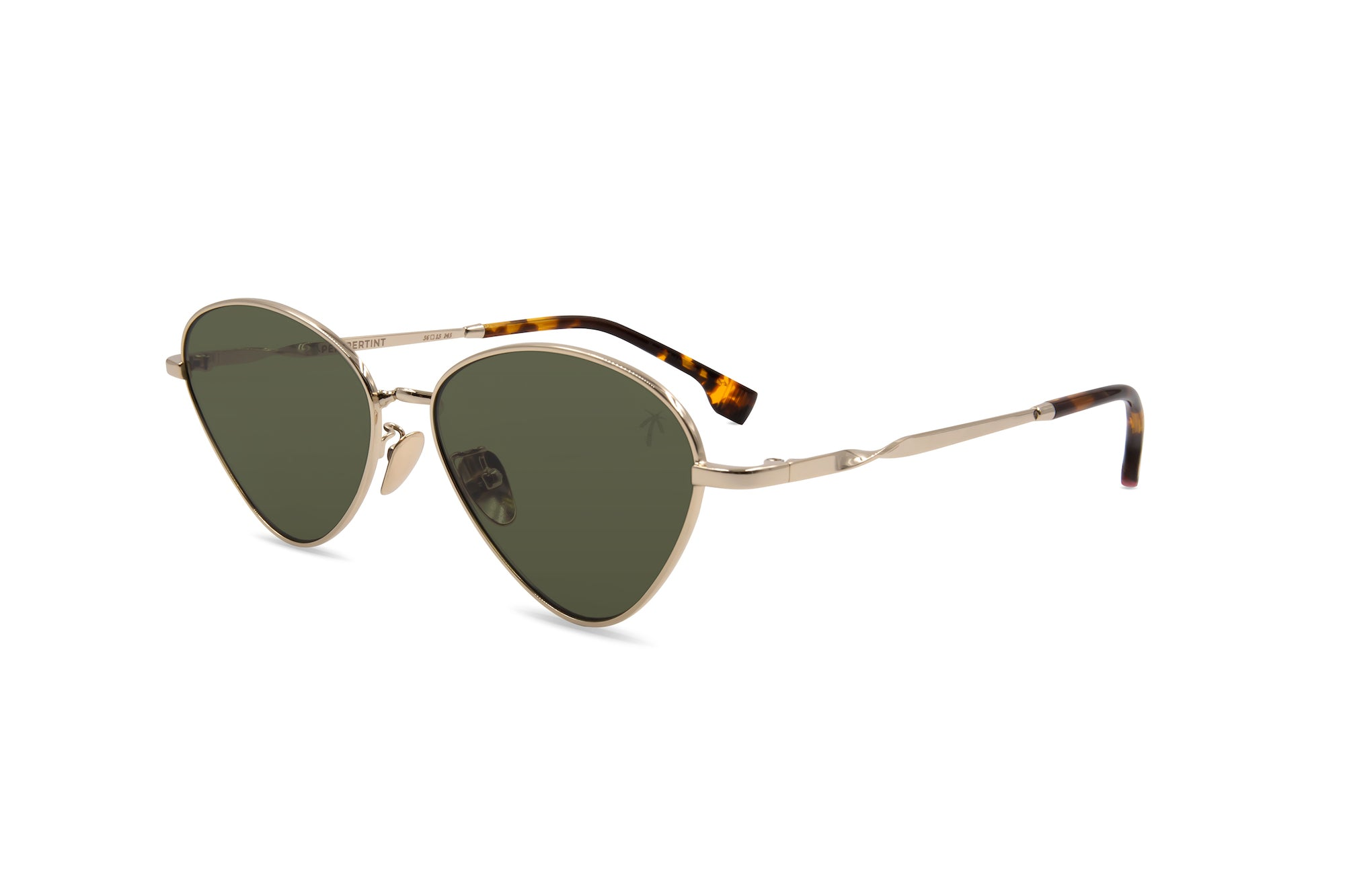 Olive in Green - Peppertint - Designer sunglasses