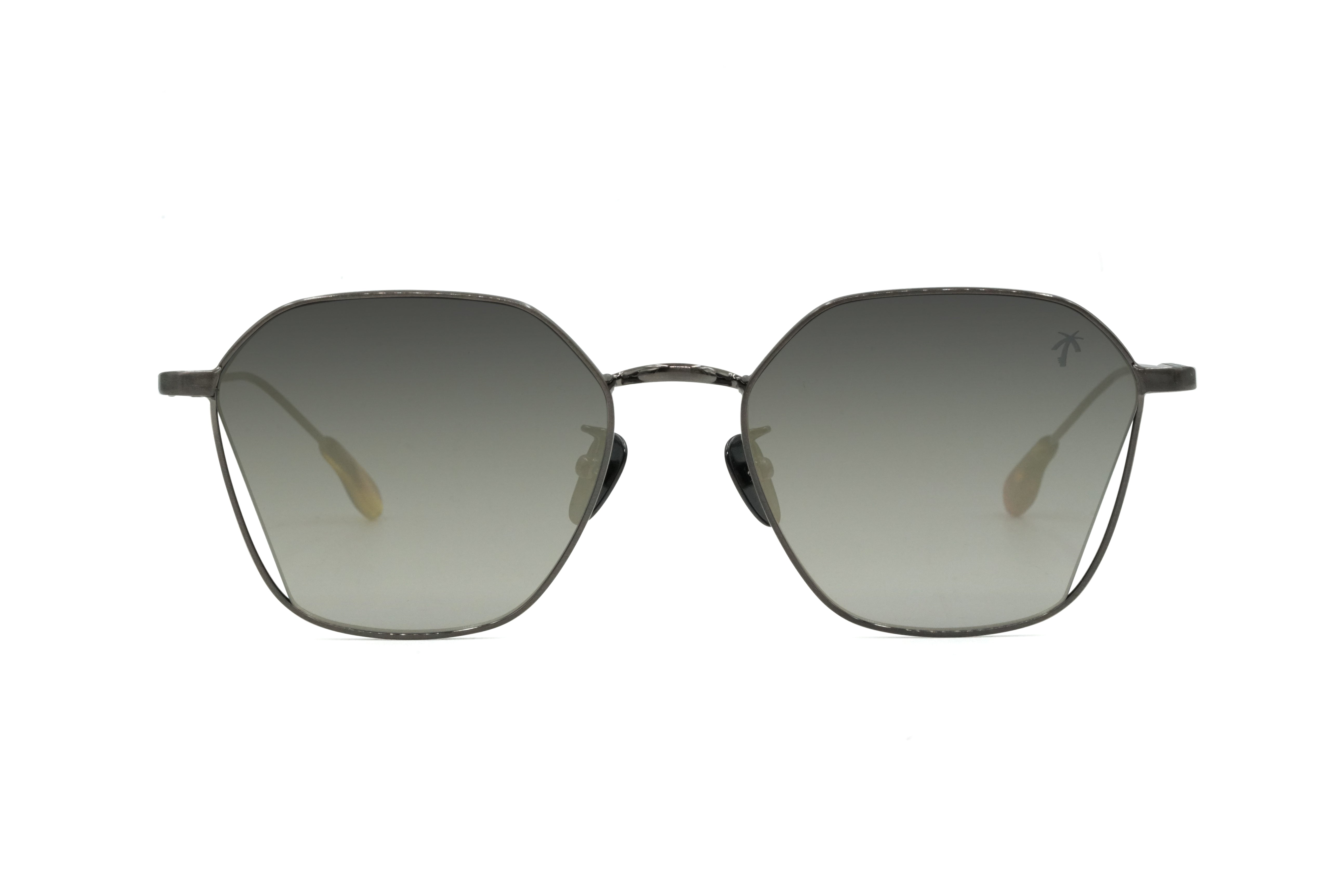 Slauson II in Black Gun Metal Frame - Peppertint - Designer sunglasses