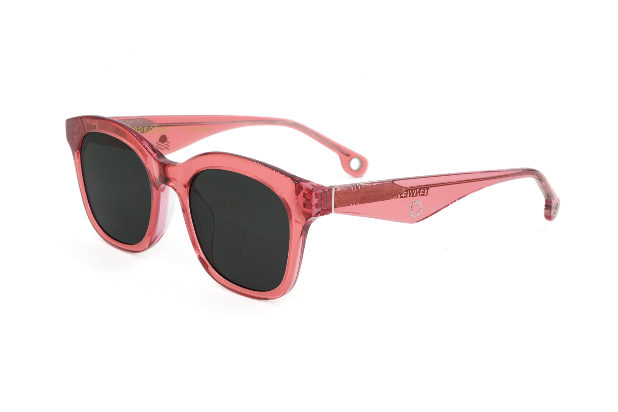 TenWest in Red - Peppertint - Designer sunglasses