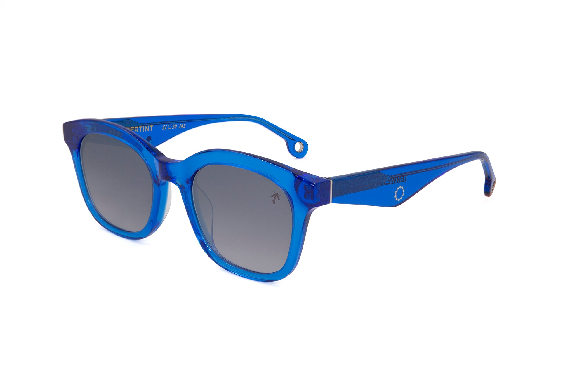 TenWest in Blue - Peppertint - Designer sunglasses
