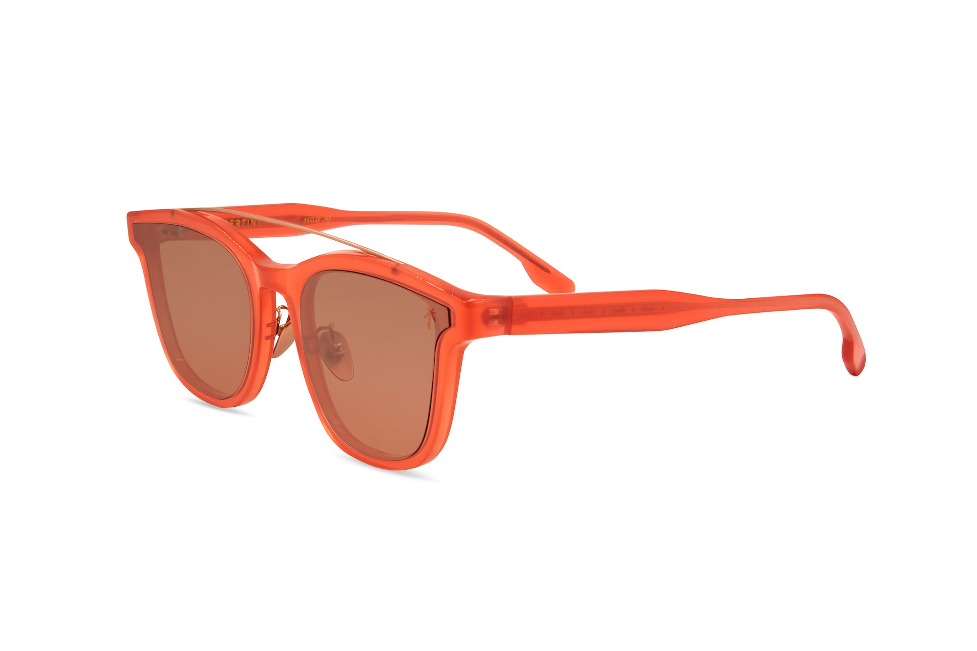 Venice Beach in Pinkish Red - Peppertint - Designer sunglasses