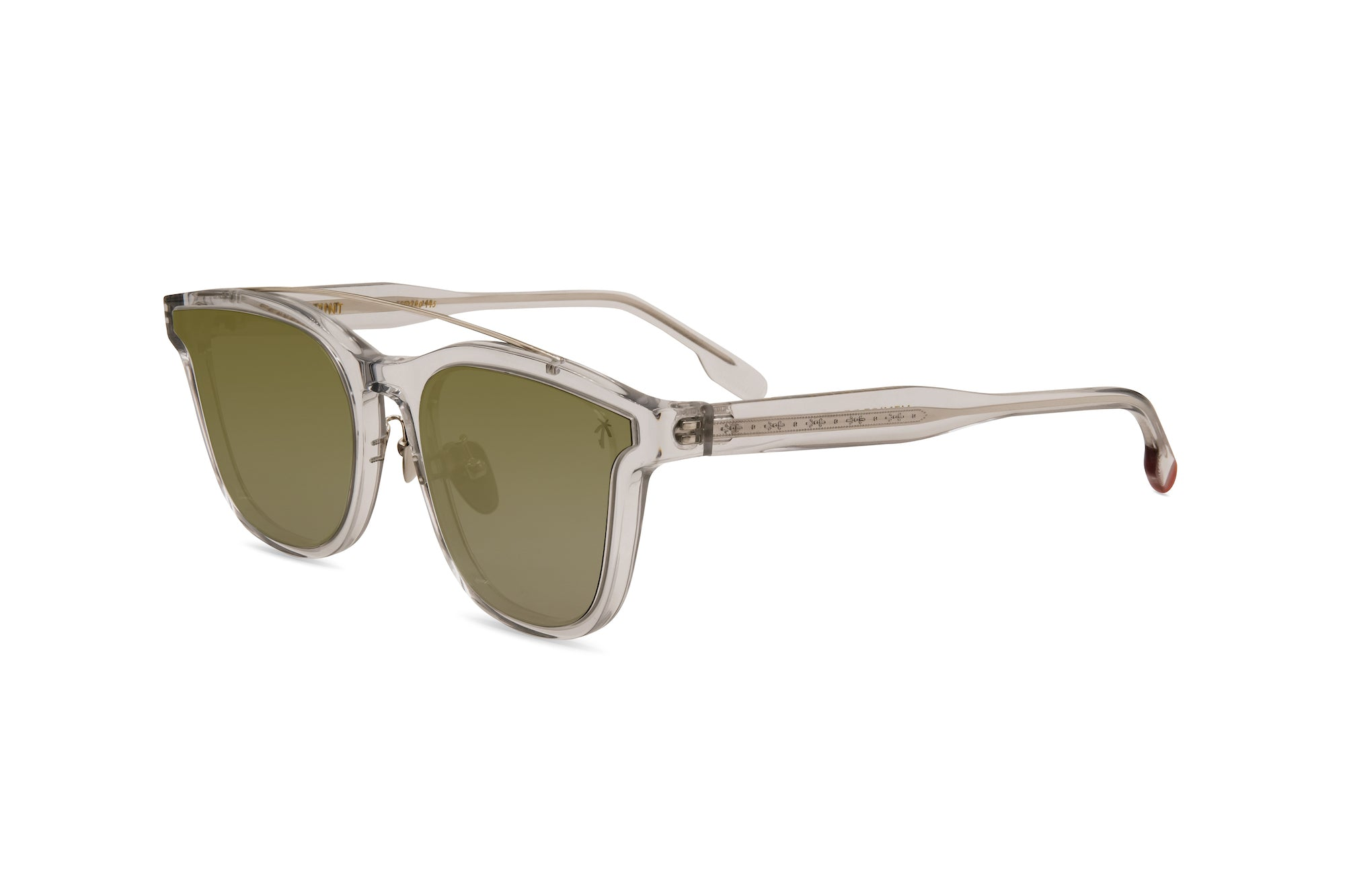Venice Beach in Clear Frame - Peppertint - Designer sunglasses