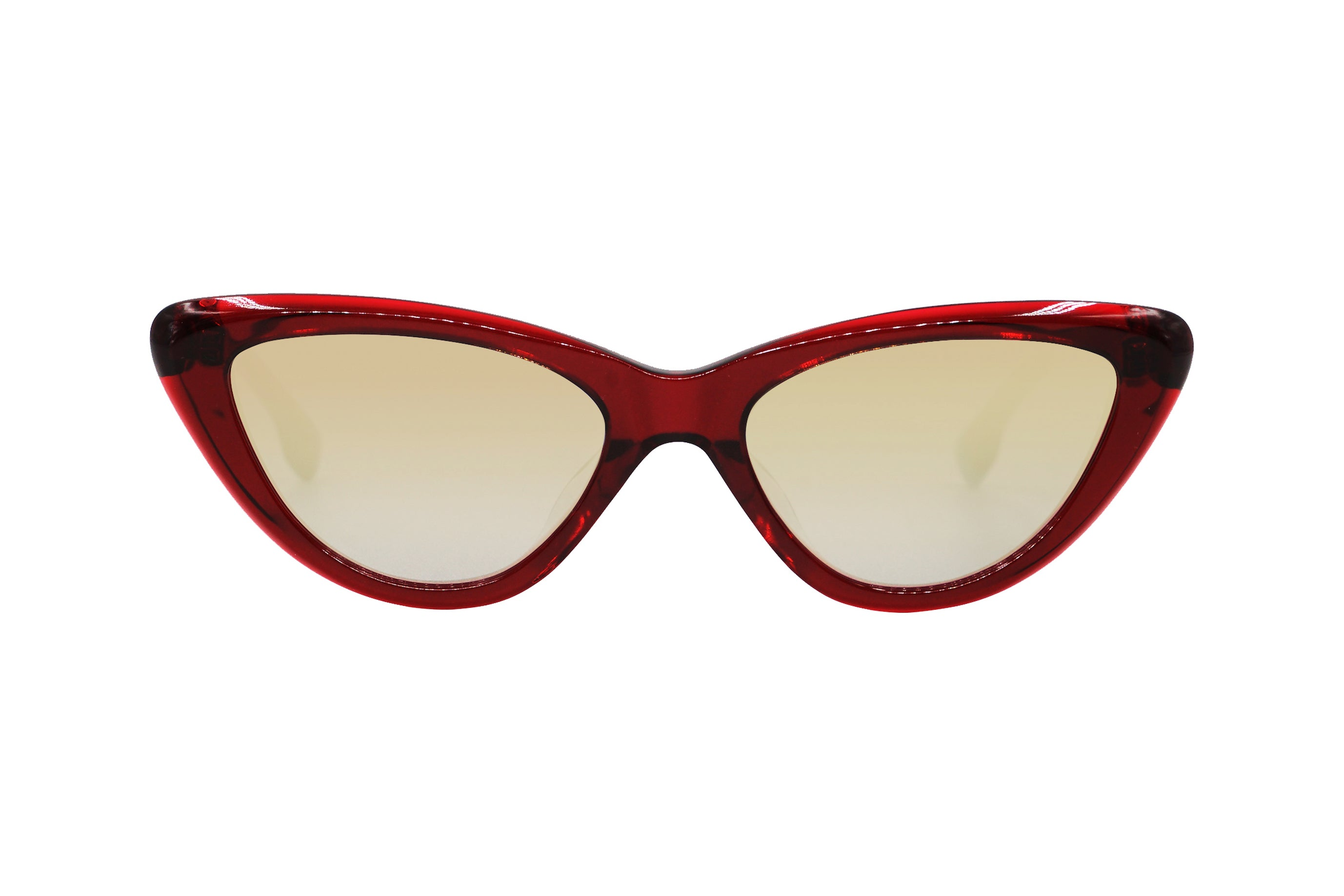 Beverly in Red - Peppertint - Designer sunglasses