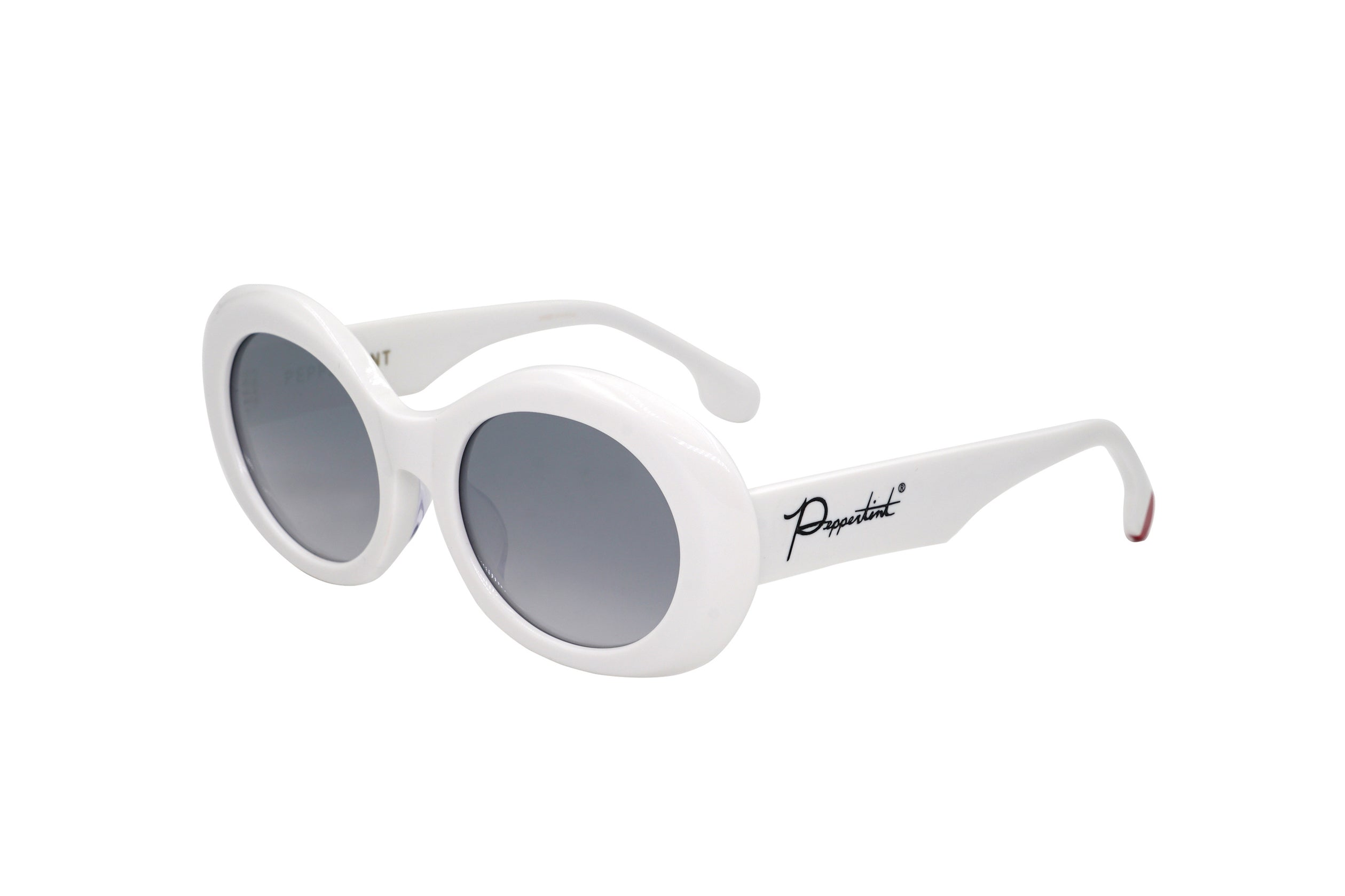 Crenshaw in White - Peppertint - Designer sunglasses