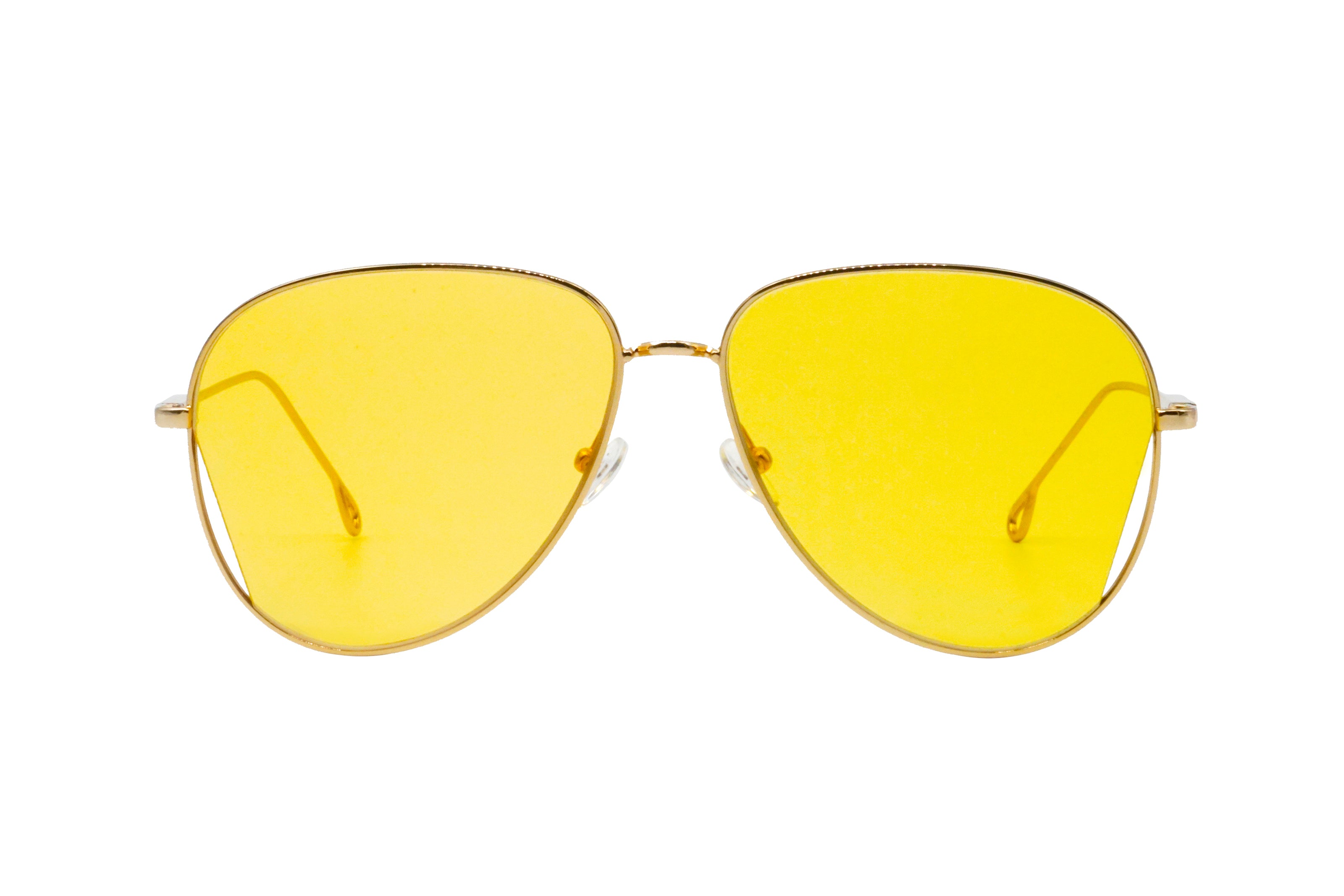 Mansfield in Yellow - Peppertint - Designer sunglasses
