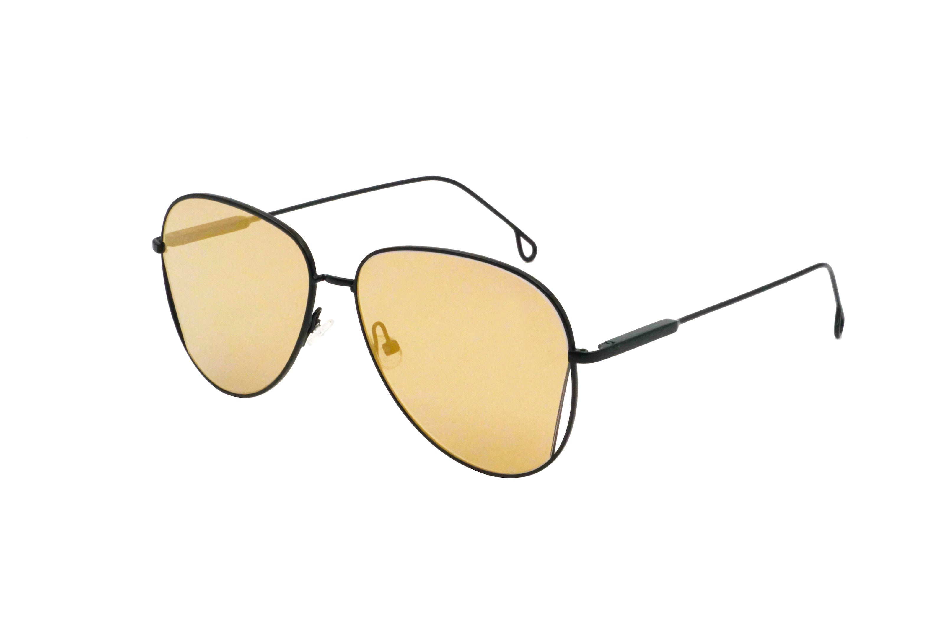Mansfield in Gold Mirror - Peppertint - Designer sunglasses